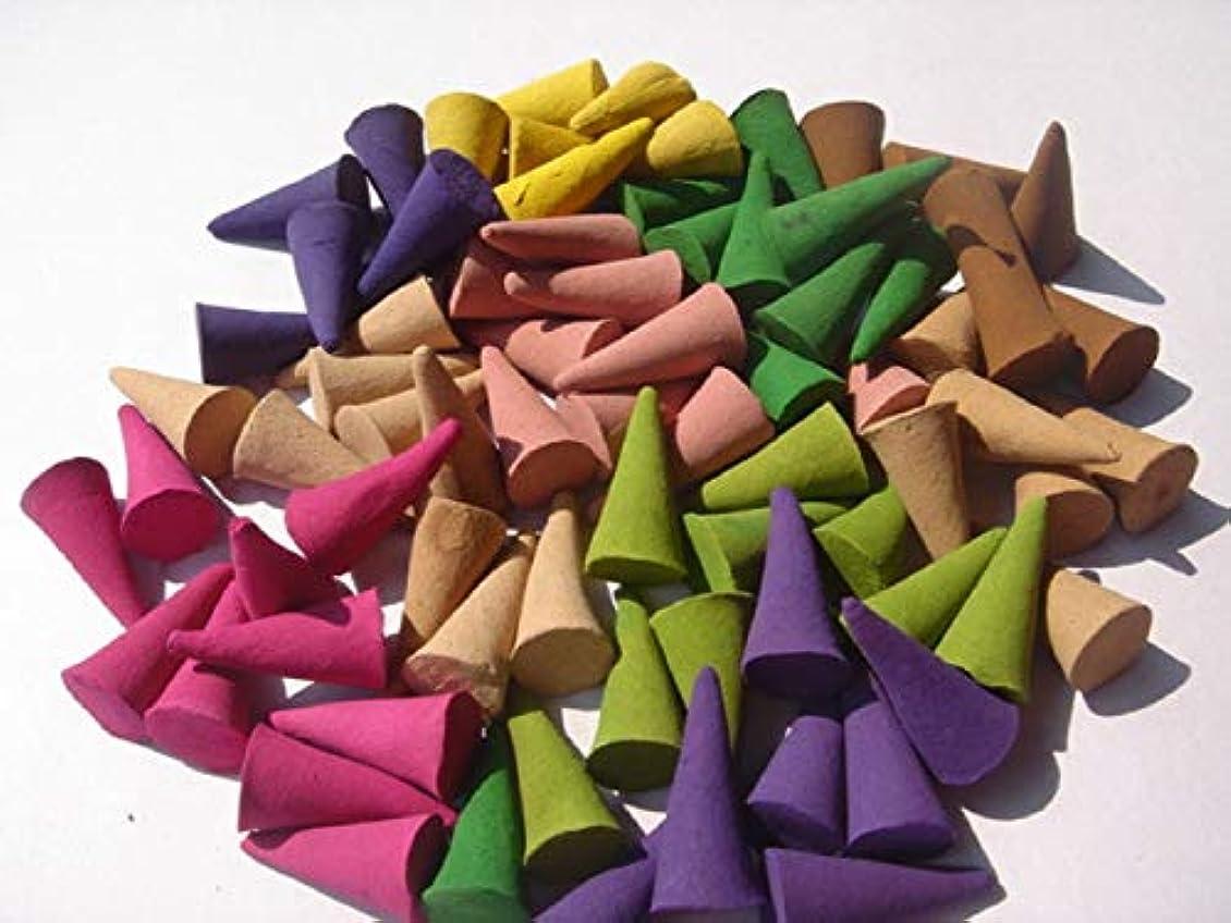 促す木製契約するFragrant incense cone shaped