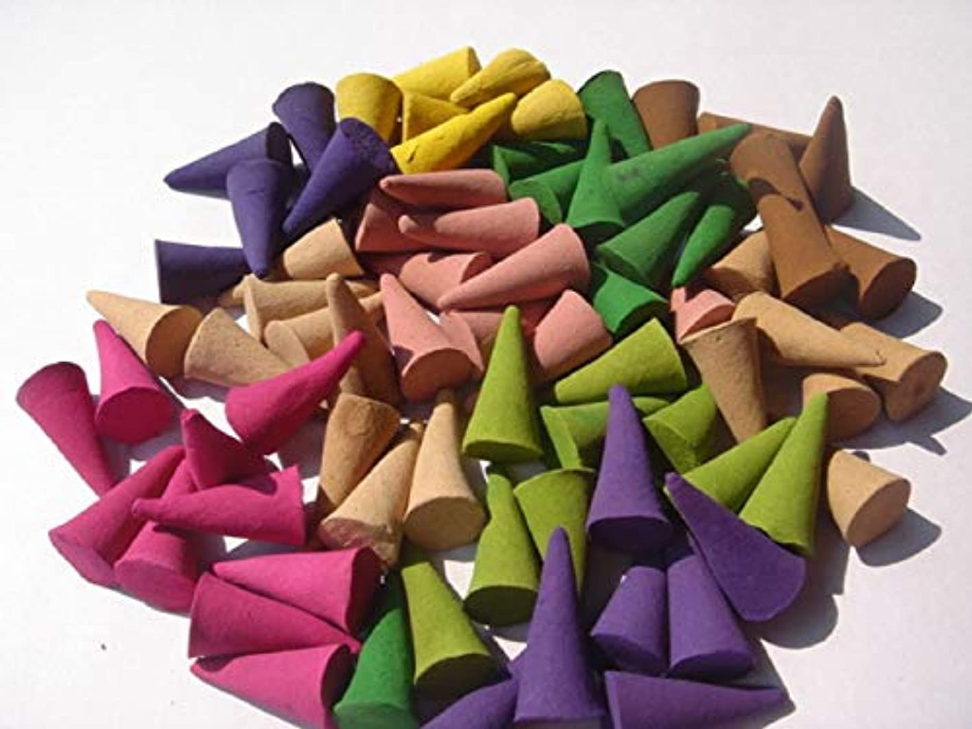 ハンディキャップすり減る祭司Fragrant incense cone shaped