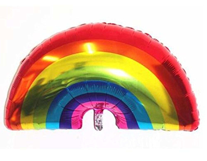 大きな虹 風船 漫画 フォイル バルーン アルミ風船 結婚式 誕生日パーティー 装飾 ベビー お祝い 装飾
