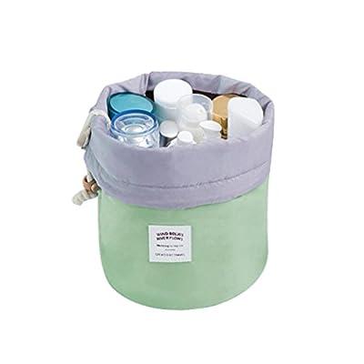 Makeup Cosmetic Bag, Halau Portable Drawstring Cosmetic Jewelry Wash Hanging Toiletry Makeup Travel Storage Bag Case