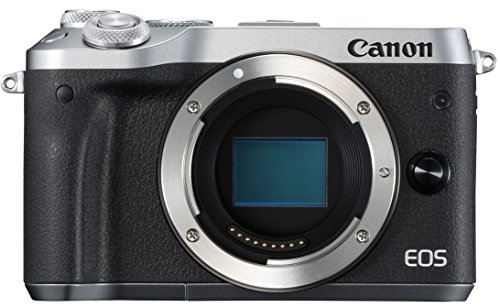 Canon ミラーレス一眼カメラ EOS M6 ボディー(シルバー) EOSM6SL-BODY
