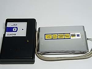 ソニー SONY デジタルカメラ Cybershot T77 (1010万画素/光学x4/3.0型タッチパネル液晶) シルバー DSC-T77/S
