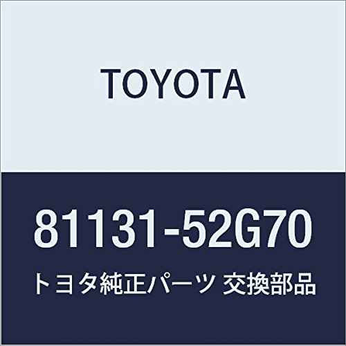 TOYOTA (トヨタ) 純正部品 ヘッドランプ レンズ RH アクア 品番81131-52G70