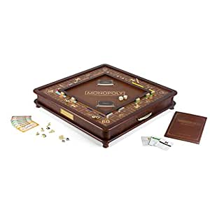 Winning Solutions モノポリー 木製ボードゲーム