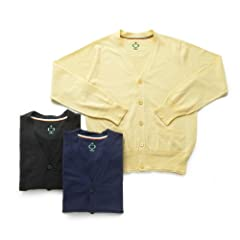 Side Slope Standard Cardigan SSL17-201: Yellow, Black, Navy