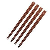 プレミアムハンドメイド天然ジュジュジュジュジュジュチューブ木製キッチン用品4個セット 長さ13インチ フライフライミキシング箸セット