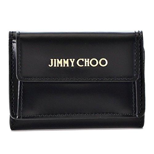 Jimmy Choo(ジミーチュウ) コンパクト財布 三つ折り財布 NEMO SBK 0001 [並行輸入品]