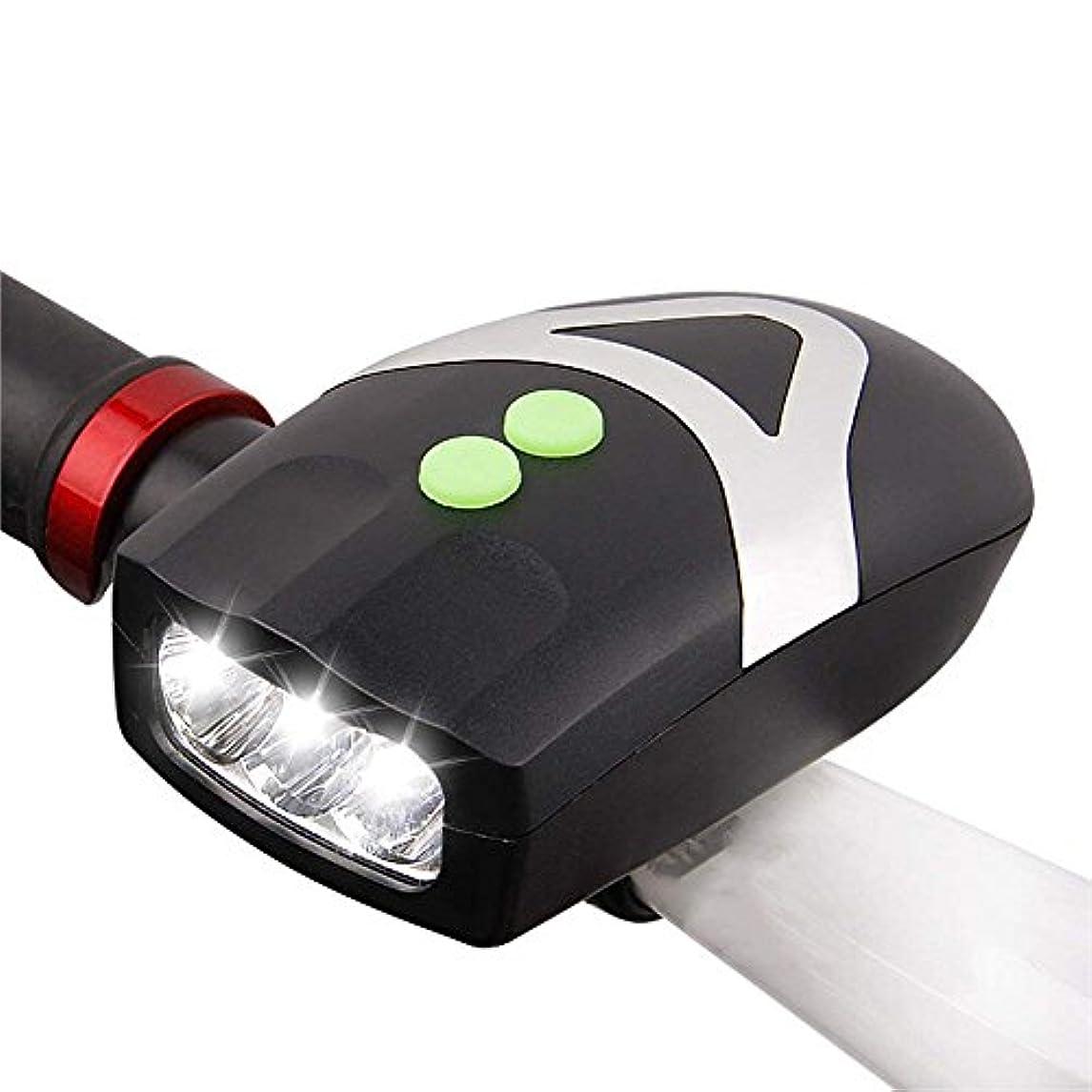 非常に他の日誘導MUTANG LED自転車ライトヘッドライト明るいライト懐中電灯90デシベル電子スピーカーマウンテンバイクナイトライドライト