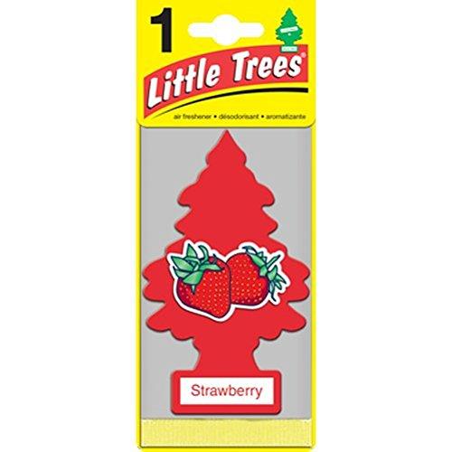 Little Trees Strawberry 吊り下げタイプ air freshener 3-paks(3枚入り)