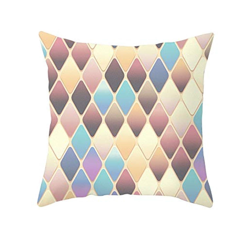 信じるに賛成枯れるLIFE 装飾クッションソファ 幾何学プリントポリエステル正方形の枕ソファスロークッション家の装飾 coussin デ長椅子 クッション 椅子