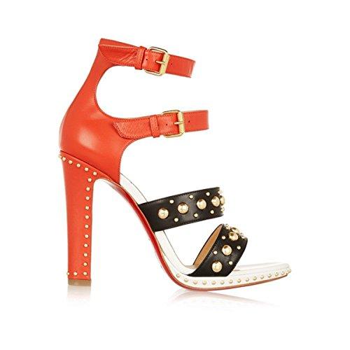 (クリスチャン ルブタン) Christian Louboutin レディース シューズ・靴 パンプス Decodame 120 studded leather sandals 並行輸入品