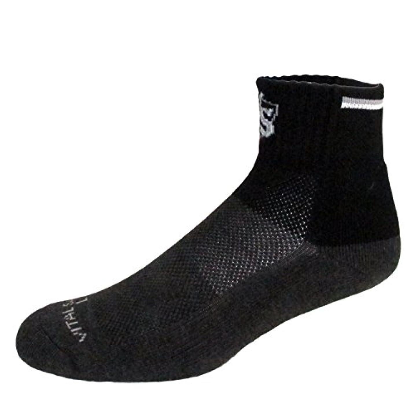 キラウエア山援助喪(VITAL SALVEO)バイタルサルウェ- 竹炭クッション厚いスポーツ競技用靴下