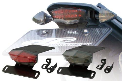 MOTOLED(モトレッド) エッジアルミホルダーキット レッドレンズ D-TRACKER X [ディートラッカー](08) KLX250(08) D45-18-714