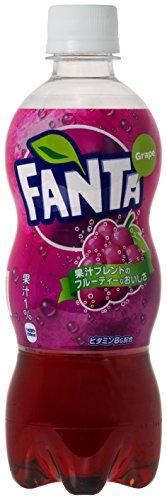 コカ・コーラ ファンタ グレープ ペットボトル 500ml×24本
