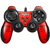PXN-2901 PS3 有線 USB コントローラー ゲームパッド Windows PC Playstation3 Steam ゲーム対応 振動連射機能搭載