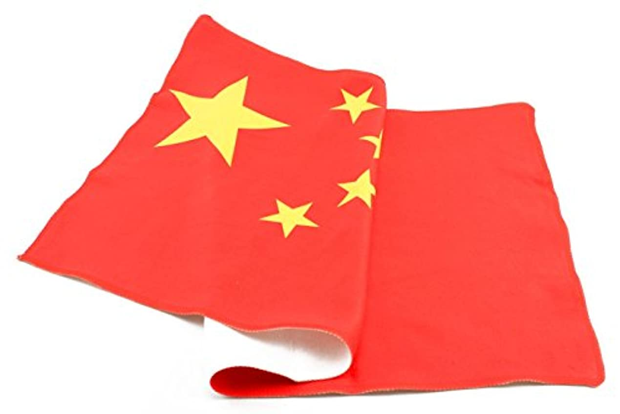 指標アンタゴニスト追跡naissant 中国 China 国旗 スポーツタオル