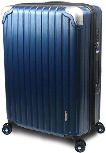 【SUCCESS サクセス】 スーツケース 2サイズ 【 大型76cm / ジャスト型70cm】 超軽量 TSAロック搭載 【 プロデンス ダイヤルロックモデル】 (大型 Lサイズ 76cm, ディープシーヘアライン )