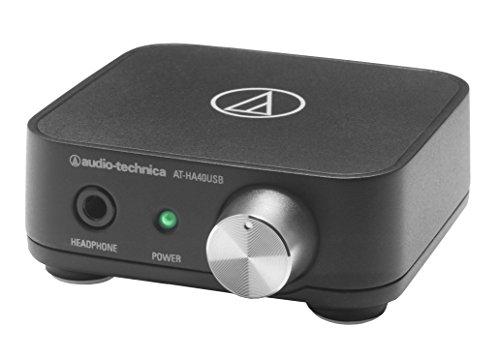 audio-technica USBヘッドホンアンプ ハイレゾ音源対応 AT-HA40USB