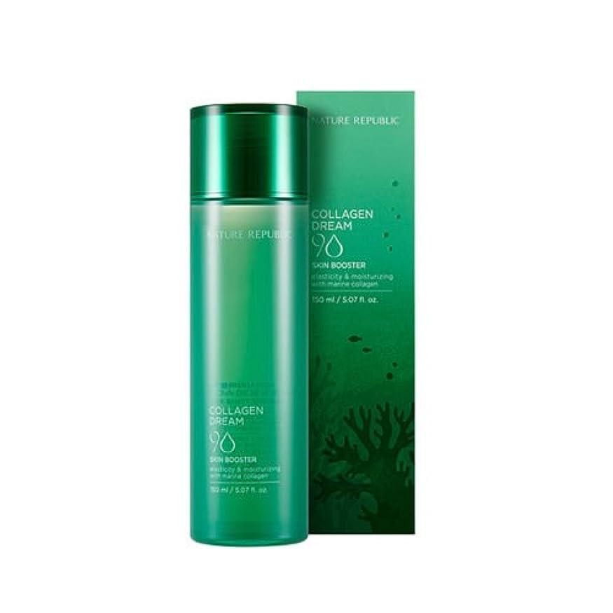伝えるハードリング重々しいNATURE REPUBLIC(ネイチャーリパブリック) COLLAGEN DREAM 90 Skin Booster コラーゲンドリーム90スキンブースター(化粧水)