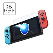 Nintendo Switch 保護フィルム-DOSMUNG(2枚セット)任天堂 Switch ガラ...