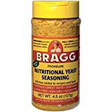 Bragg Premium Nutritional Yeast Seasoning in Tray, 127 g, Cheese