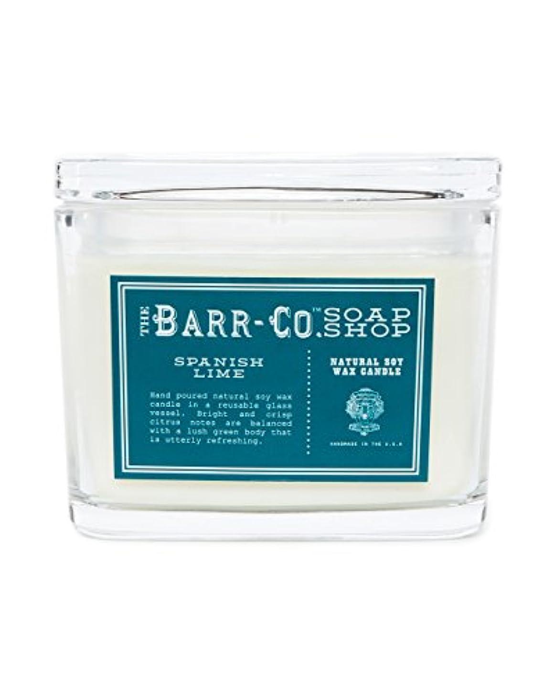 運動する同一性探検barr-coスペイン語ライム香り2-wick Jar Candle – Glass Jar