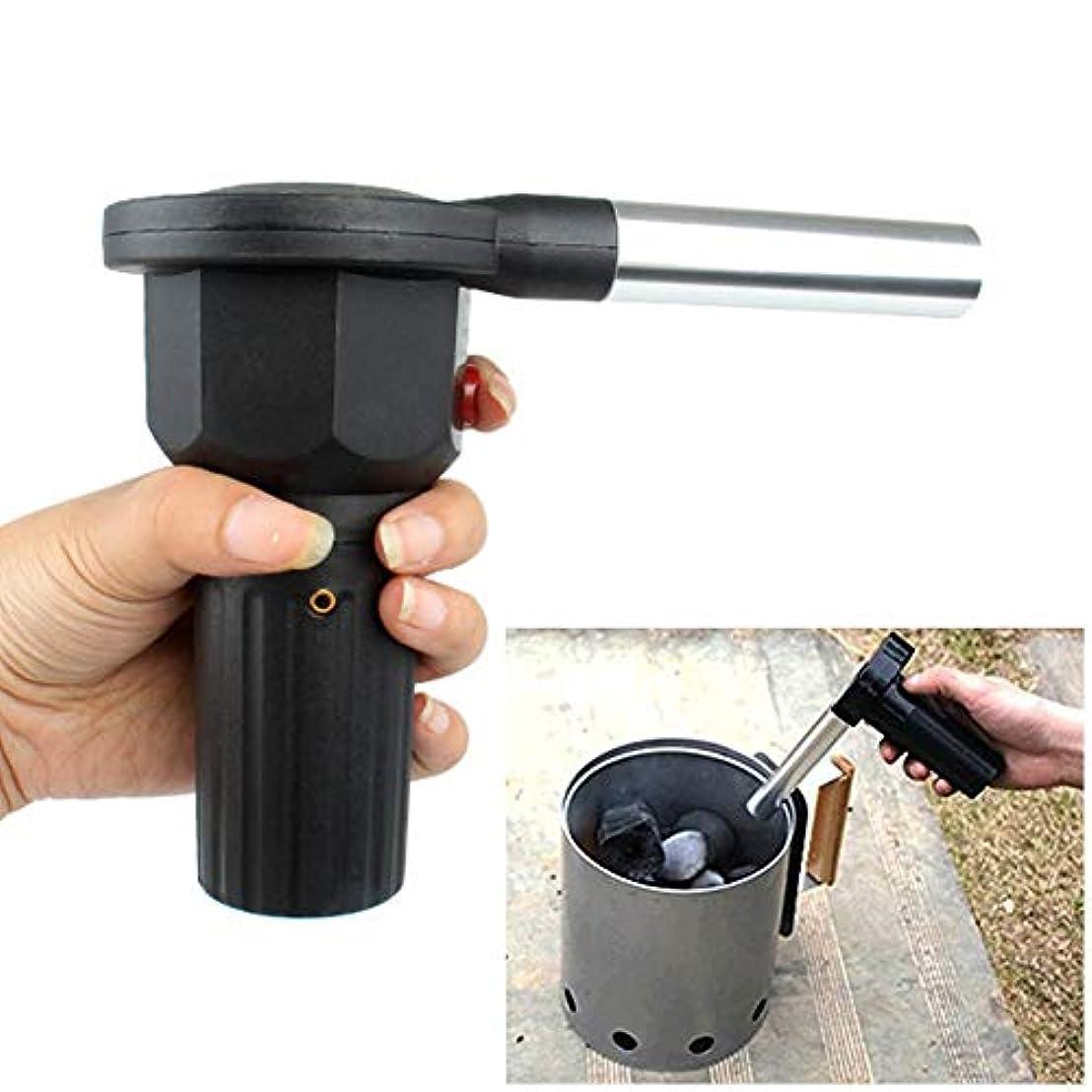 もう一度意味のある休日にLoople 送風機 ロングノズル 火おこしファン 電池式 火おこし ガンブロー BBQ 着火用 ファン 操作簡単 軽量
