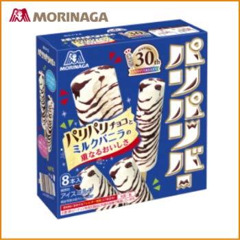 森永製菓 パリパリバー<バニラ> 48ml×8本×9箱