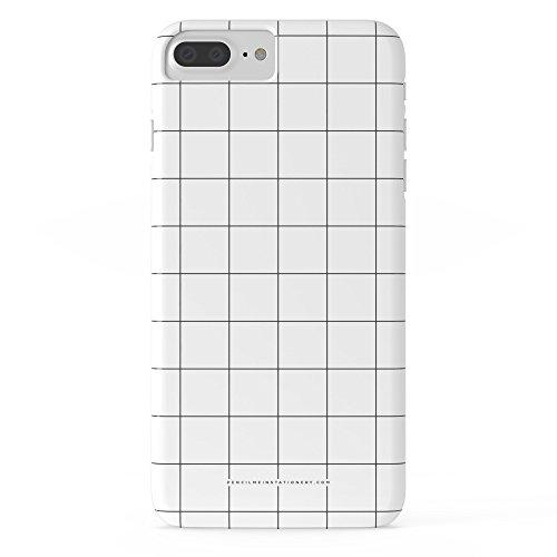 Society6 White Grid///Www.pencilmeinstationery.com Slim Case iPhone 7 Plus