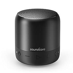 Soundcore Mini 2 (6W Bluetooth4.2 スピーカー by Anker)【IPX7防水規格 / 15時間連続再生 / ワイヤレスステレオペアリング / コンパクト設計】(ブラック)