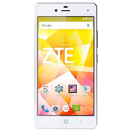 ZTE SIMフリースマートフォン ZTE Blade E01 ホワイト BLADE E01 WH