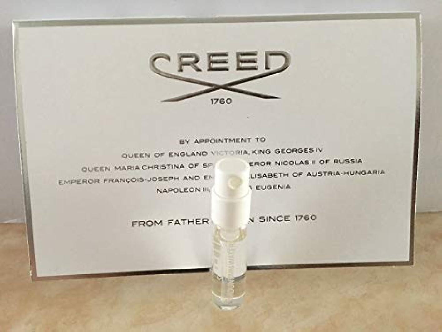 ソファー疾患減衰Creed Silver Mountain Water (クリード シルバー マウンテン オウーター) 0.08 oz (2.5ml) サンプル Vial for Men