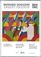 ポスター ハワード ホジキン Absent Friends The Tilsons Exhibition 額装品 アルミ製ベーシックフレーム(シルバー)