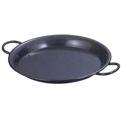 赤川器物製作所『鉄黒皮パエリア鍋』