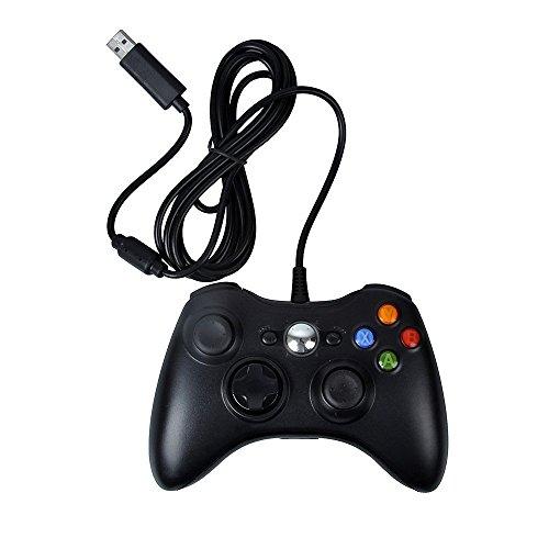 DeXop 有線USBゲームパッド ゲームコントローラー MICROSOFTXbox360 PC Windows7のXPに適用