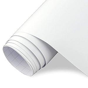 TECKWRAP カッティングシート マット(艶消し) ホワイト(白) 300cm×30cm