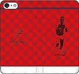iPhone/Xperia/Galaxy/他機種選択可:サッカー/グラフィティ/へのへのもへじタッチ手帳ケース(デザイン:ロンドン/14番_02) 01 iPhone5/5s/SE