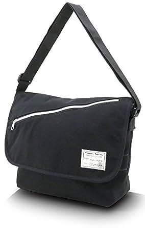 (フルグロウ) Full Glow ショルダーバッグ メンズ バッグ カバン 鞄 斜め掛け カジュアル レディース ユニセックス スウェット メッセンジャーバッグ 3color Free ブラック