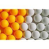 formanism 練習やレジャー用 卓球ボール ピンポン玉 100個セット (しろ 100個)