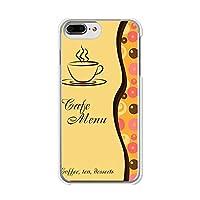 apple iPhone8Plus クリアハードケース/カバー  【コーヒーブレイク】 スマートフォンカバー・ケース
