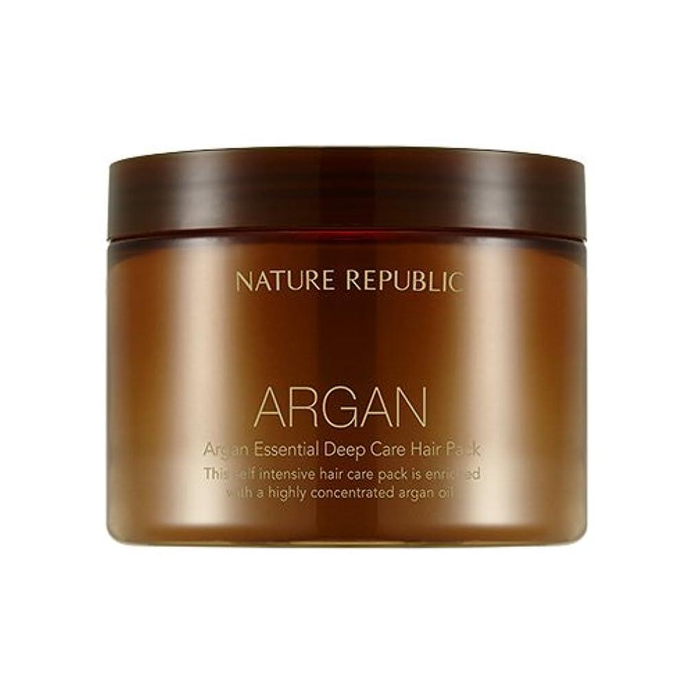 過ち切り下げこどもセンターNATURE REPUBLIC Argan Essential Deep Care Hair Pack 470ml ネイチャーリパブリック アルガンエッセンシャルディープケアヘアパック 470ml [並行輸入品]