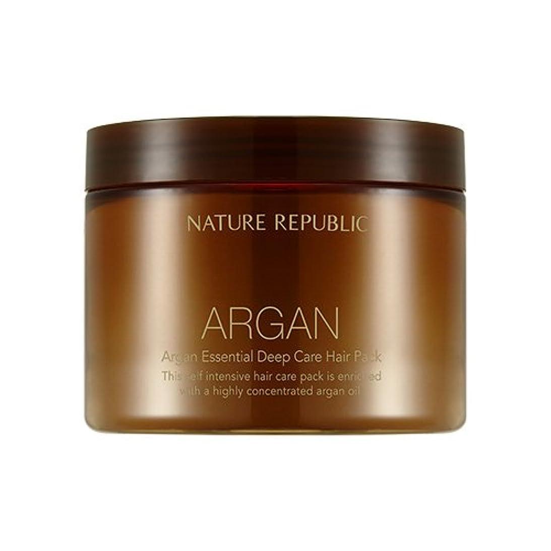 スカート強大な冗長NATURE REPUBLIC Argan Essential Deep Care Hair Pack 470ml ネイチャーリパブリック アルガンエッセンシャルディープケアヘアパック 470ml [並行輸入品]