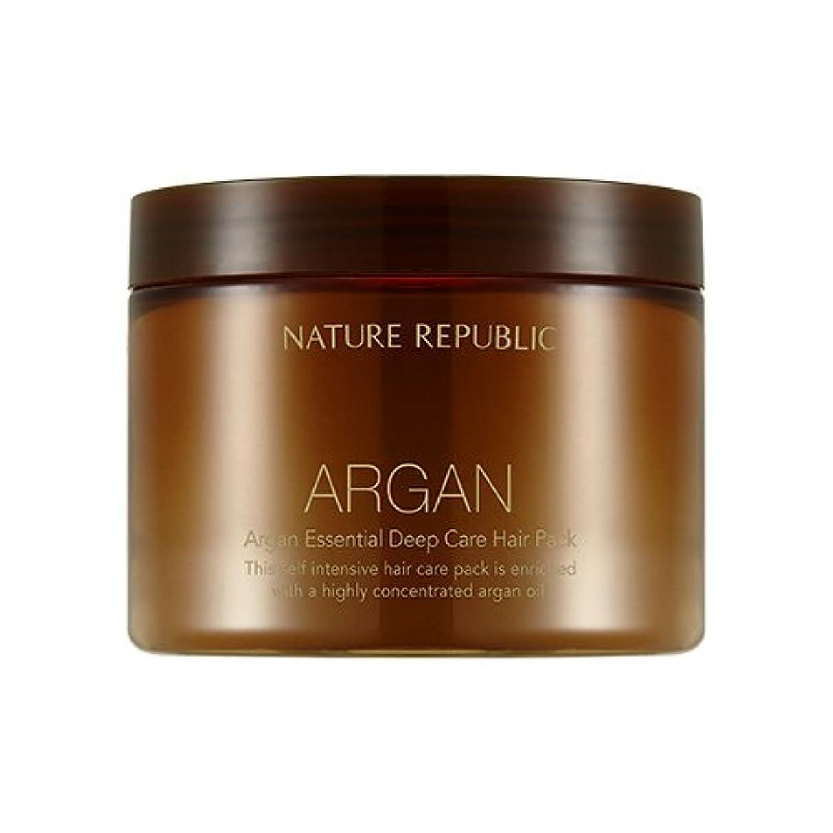 アグネスグレイ天使シエスタNATURE REPUBLIC Argan Essential Deep Care Hair Pack 470ml ネイチャーリパブリック アルガンエッセンシャルディープケアヘアパック 470ml [並行輸入品]