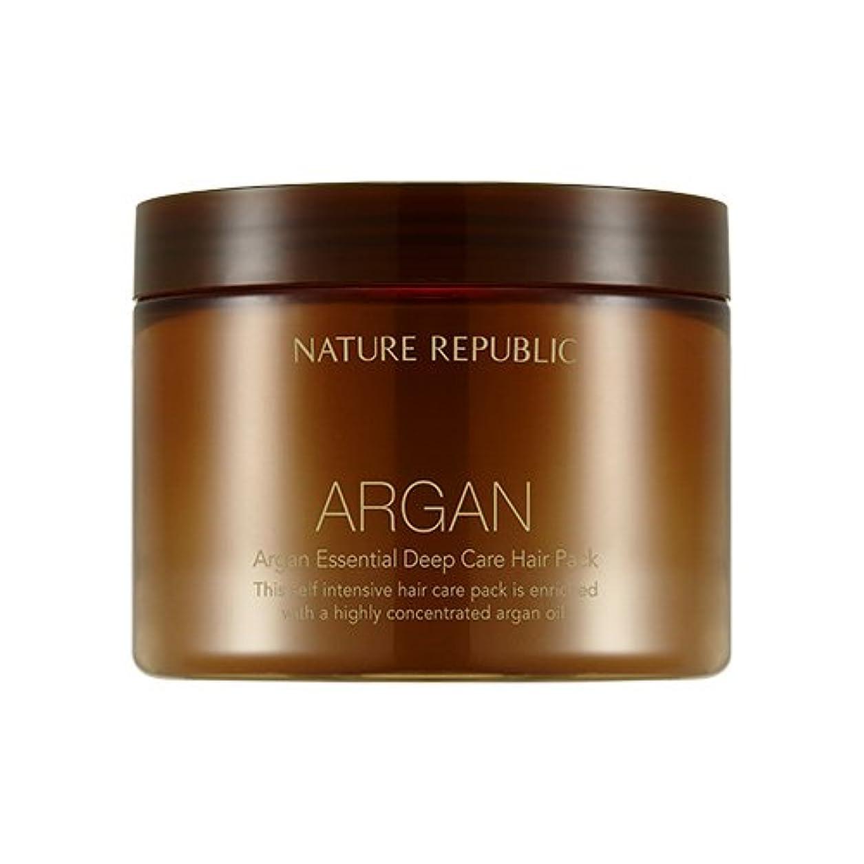 パスタコンバーチブルお気に入りNATURE REPUBLIC Argan Essential Deep Care Hair Pack 470ml ネイチャーリパブリック アルガンエッセンシャルディープケアヘアパック 470ml [並行輸入品]
