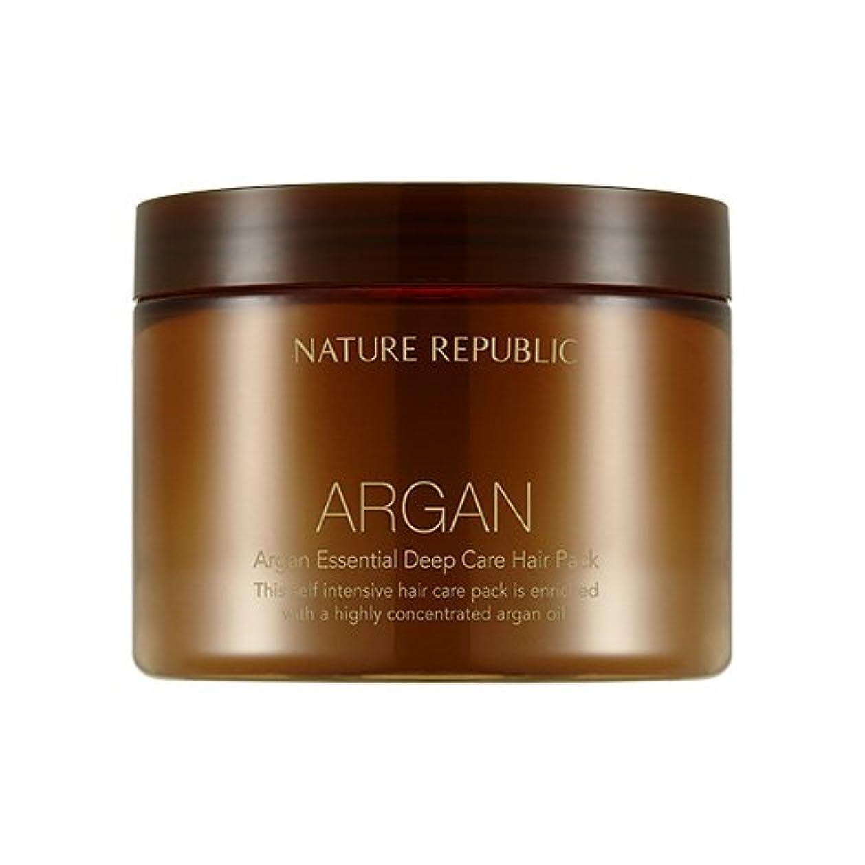 動的隣人ミルクNATURE REPUBLIC Argan Essential Deep Care Hair Pack 470ml ネイチャーリパブリック アルガンエッセンシャルディープケアヘアパック 470ml [並行輸入品]