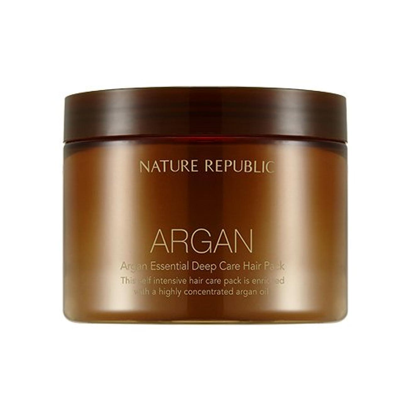 風が強い竜巻リンスNATURE REPUBLIC Argan Essential Deep Care Hair Pack 470ml ネイチャーリパブリック アルガンエッセンシャルディープケアヘアパック 470ml [並行輸入品]