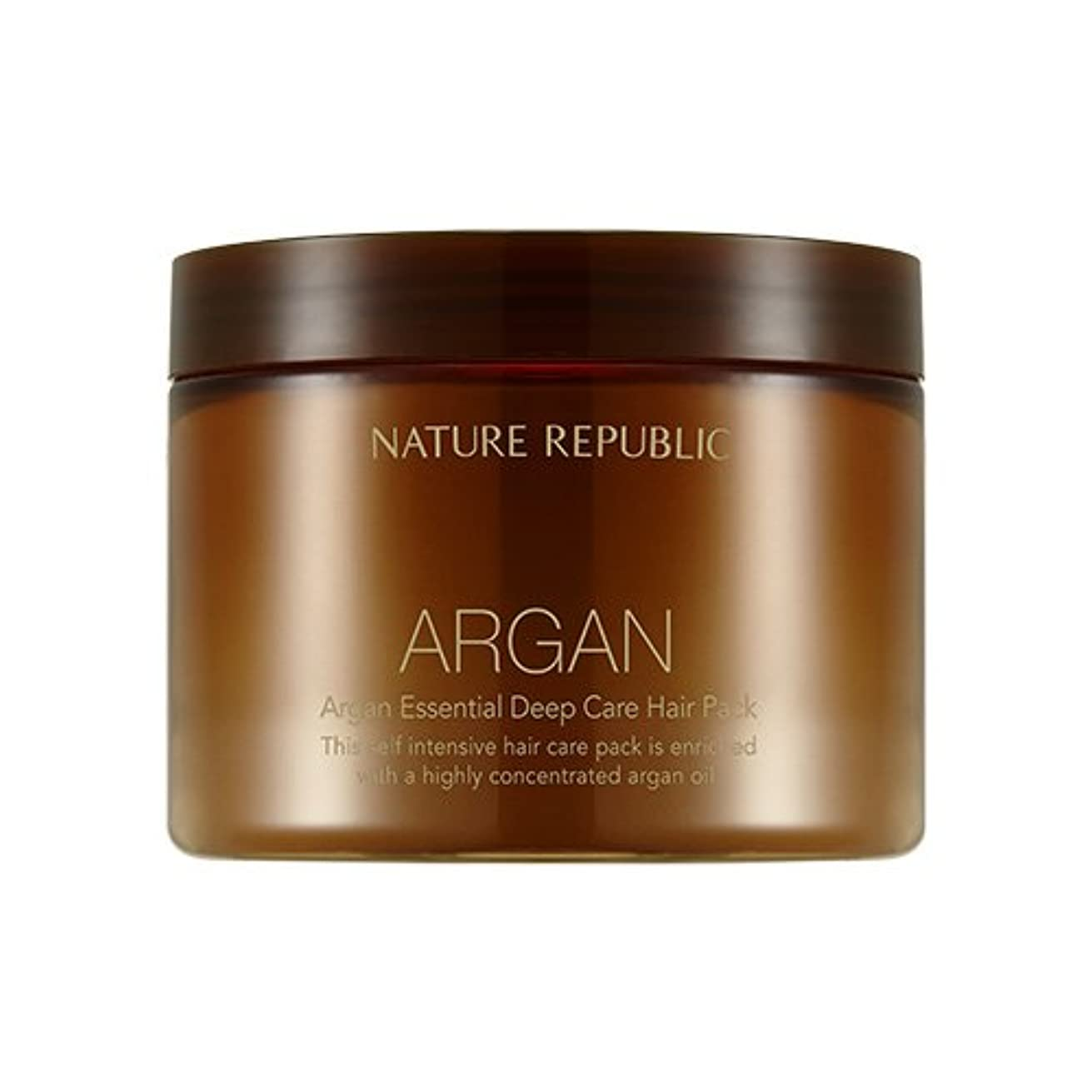 無家禽遠えNATURE REPUBLIC Argan Essential Deep Care Hair Pack 470ml ネイチャーリパブリック アルガンエッセンシャルディープケアヘアパック 470ml [並行輸入品]