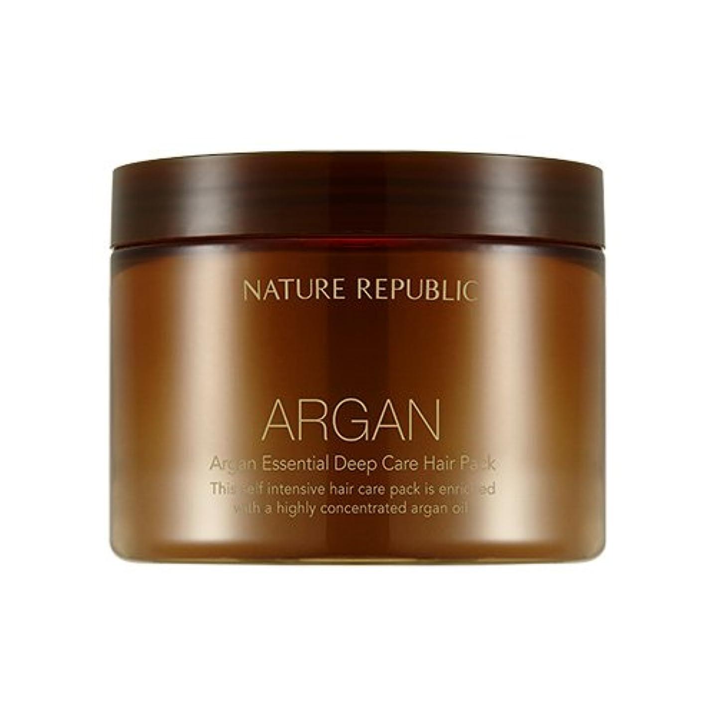 確認する咳ピルファーNATURE REPUBLIC Argan Essential Deep Care Hair Pack 470ml ネイチャーリパブリック アルガンエッセンシャルディープケアヘアパック 470ml [並行輸入品]