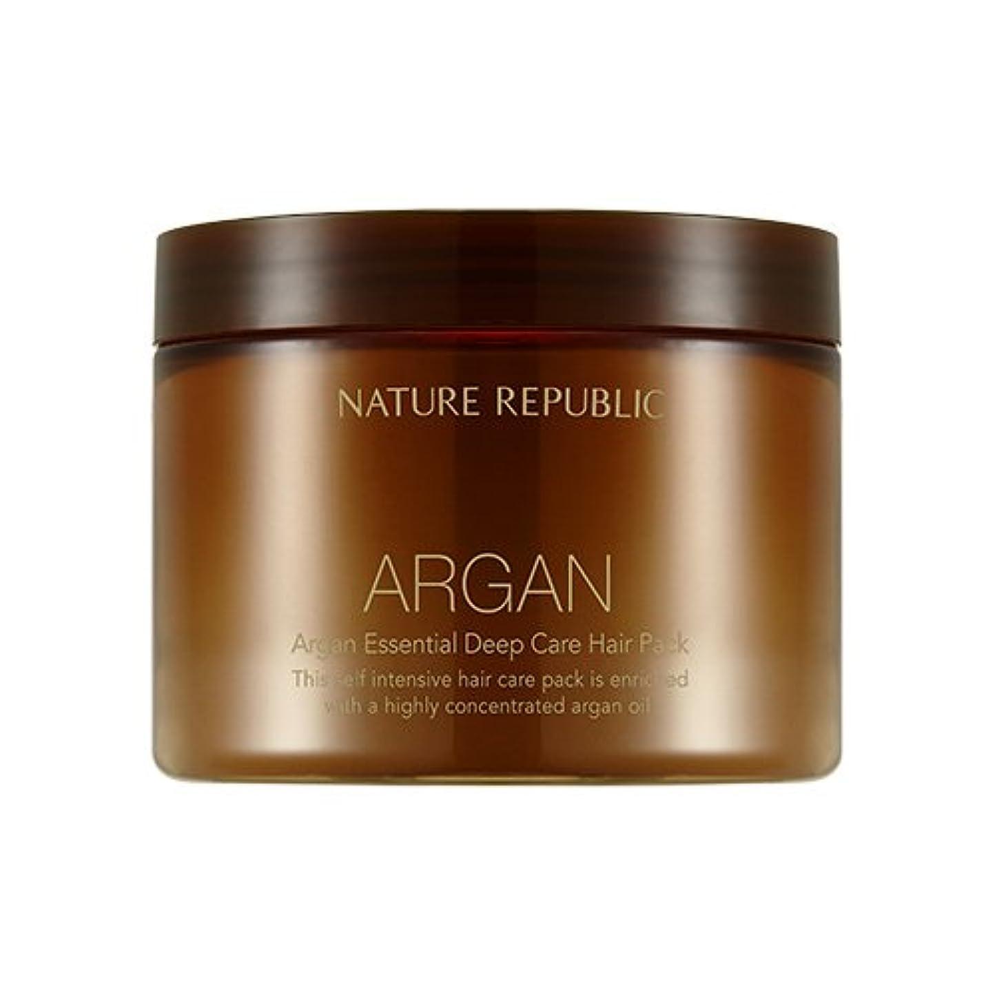 無駄だ正しくヤングNATURE REPUBLIC Argan Essential Deep Care Hair Pack 470ml ネイチャーリパブリック アルガンエッセンシャルディープケアヘアパック 470ml [並行輸入品]