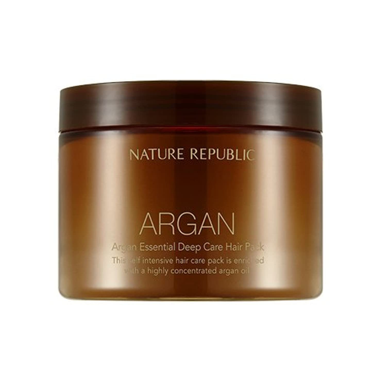 ウルルにはまって床を掃除するNATURE REPUBLIC Argan Essential Deep Care Hair Pack 470ml ネイチャーリパブリック アルガンエッセンシャルディープケアヘアパック 470ml [並行輸入品]